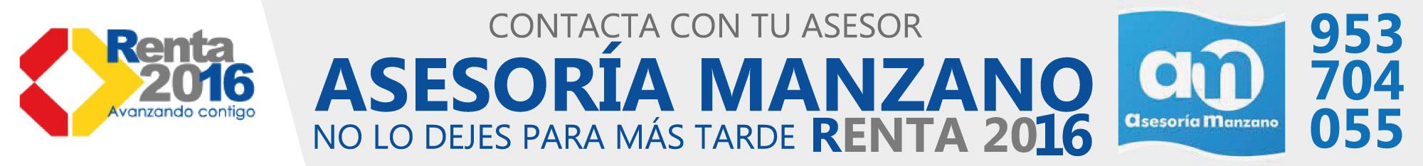 Renta Asesoría Manzano